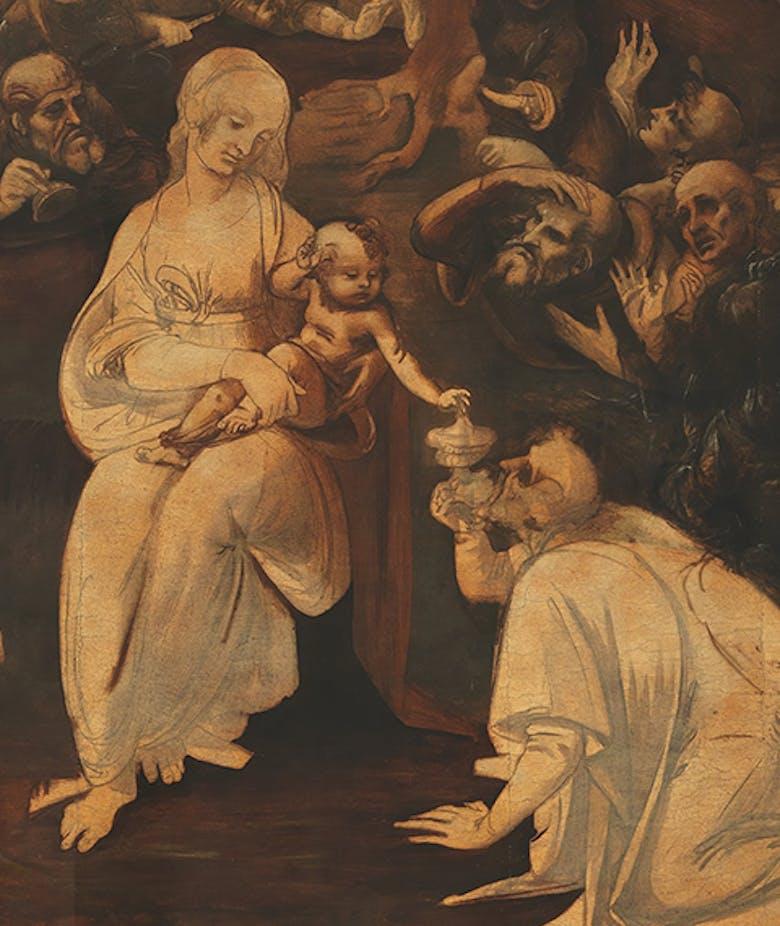 Il cosmo magico di Leonardo - L'Adorazione dei Magi restaurata