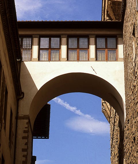 Passage from Palazzo Vecchio to the Uffizi temporarily closed due to maintenance works