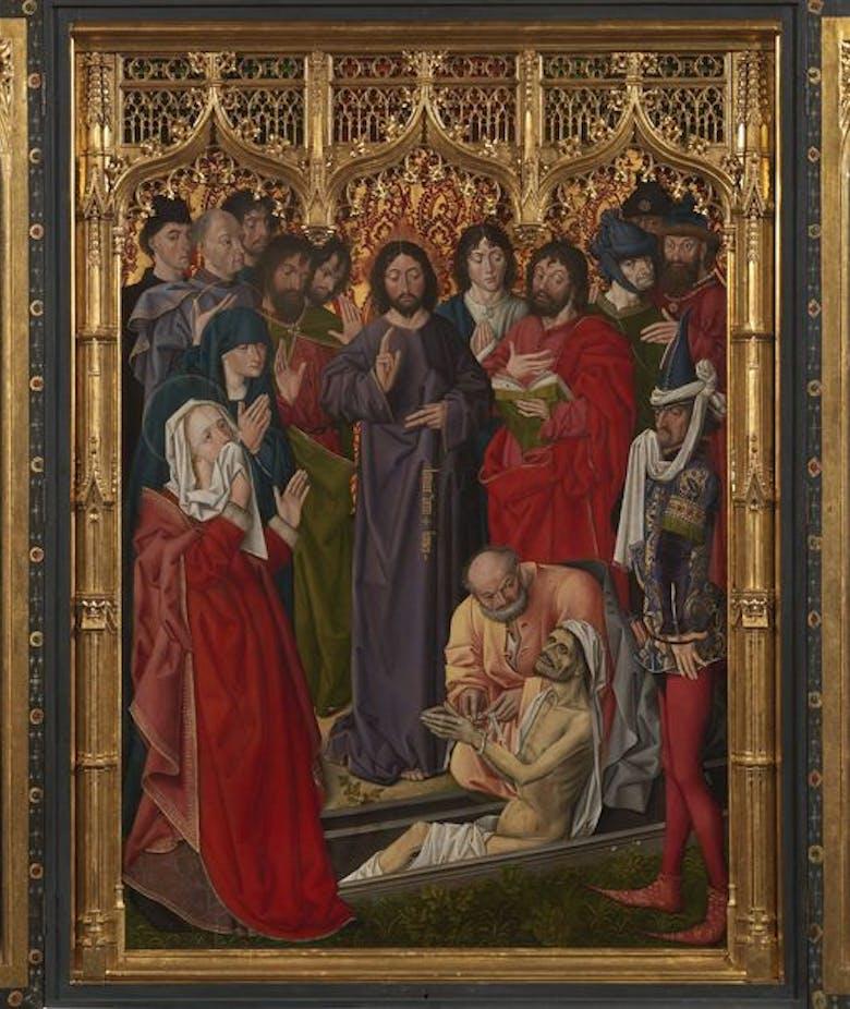 Nicolas Froment - Il restauro della Resurrezione di Lazzaro