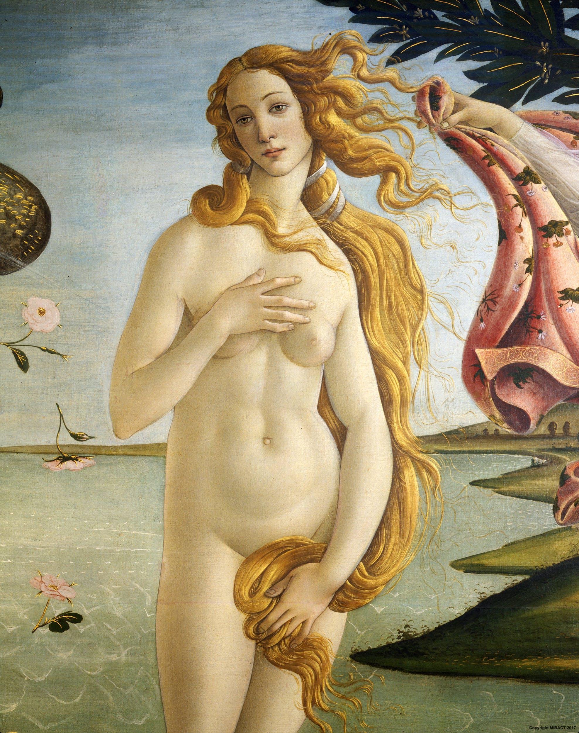 The Birth Of Venus By Botticelli Artworks Uffizi Galleries