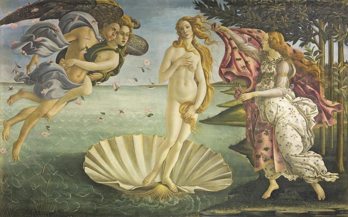 La nascita di Venere di Botticelli | Opere