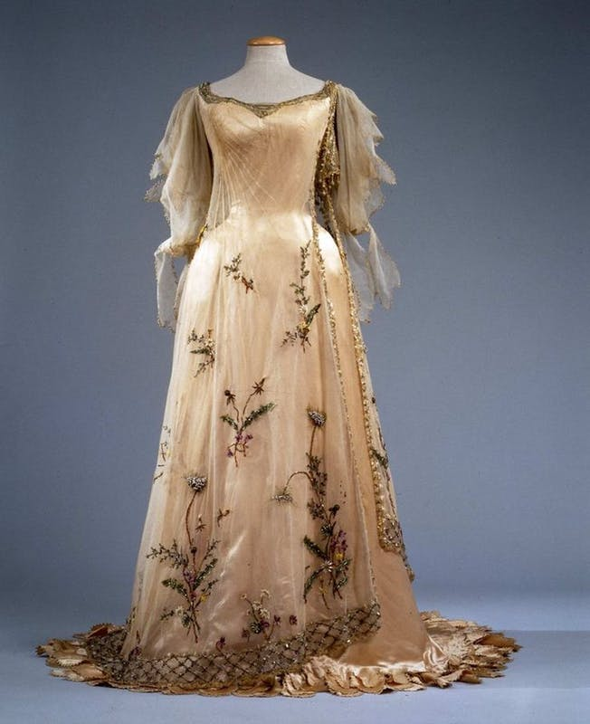 The Spring (Evening gown) | Artworks | Uffizi Galleries