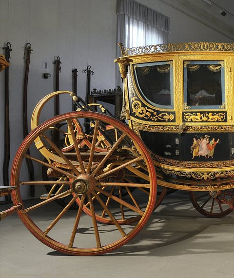 Grand Gala Berlin carriage of Grand Duke of Tuscany Ferdinand III