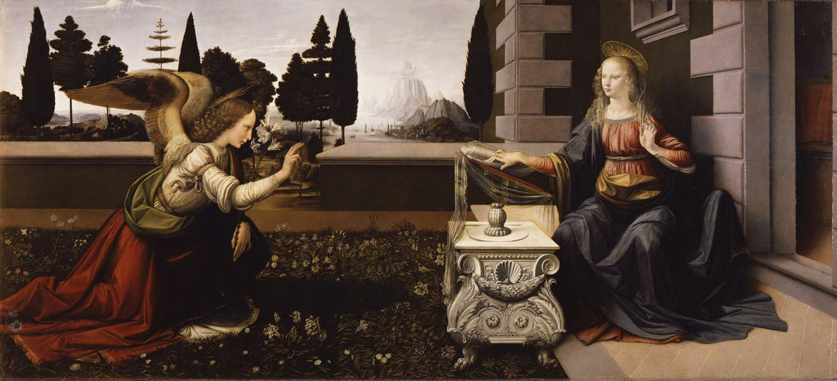 Image result for leonardo da vinci the uffizi museum florence