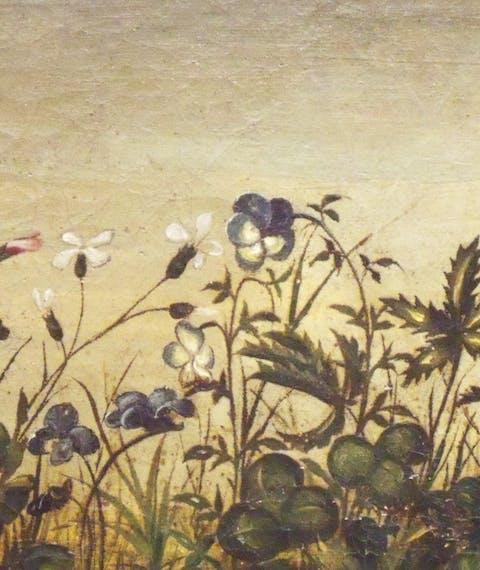 Flowers at the Uffizi