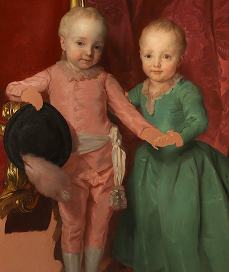The King of Spain's Grandchildren