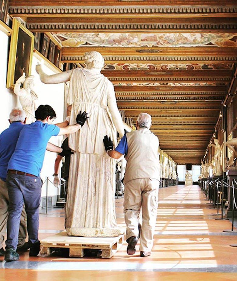 Opere in trasferta - Le opere temporaneamente non esposte al pubblico