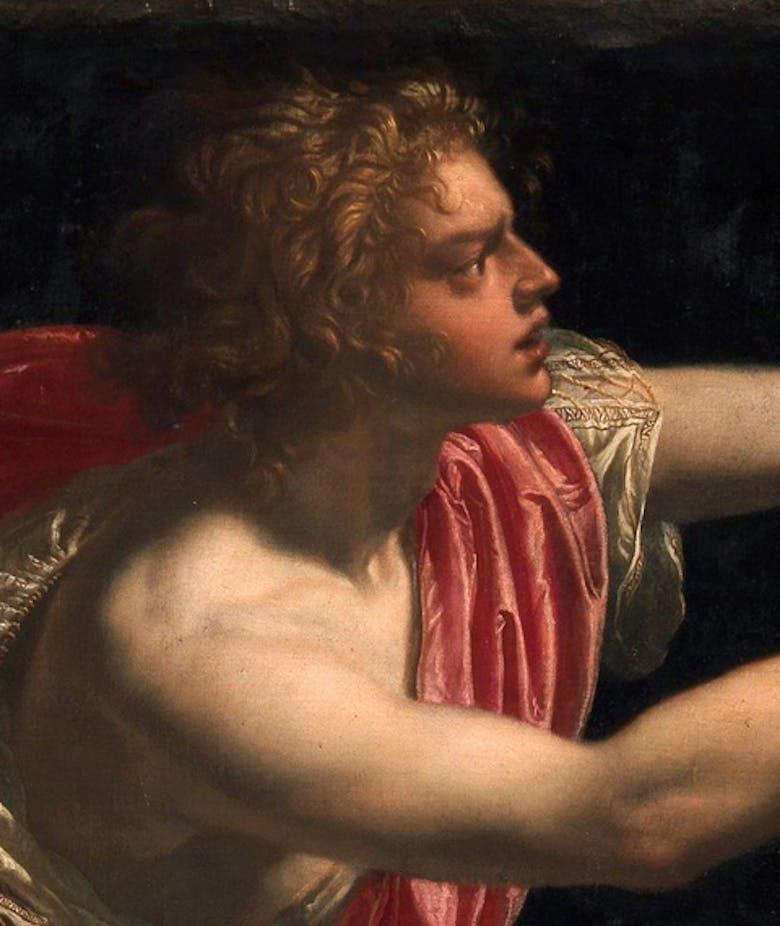 Apollo che scortica Marsia