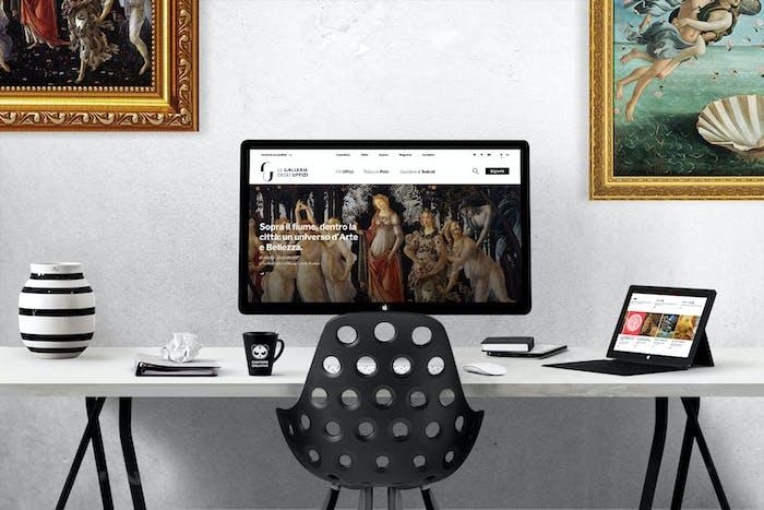 Gallerie degli Uffizi: un nuovo sito progettato a misura d'uomo