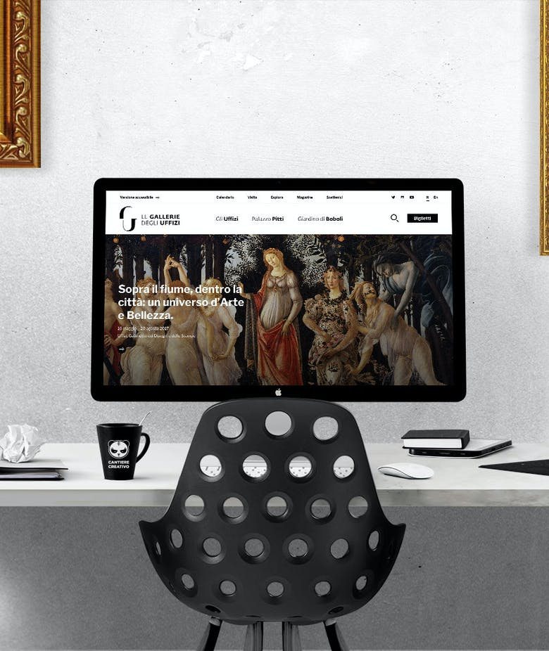 The Uffizi Galleries: a new, user-friendly website