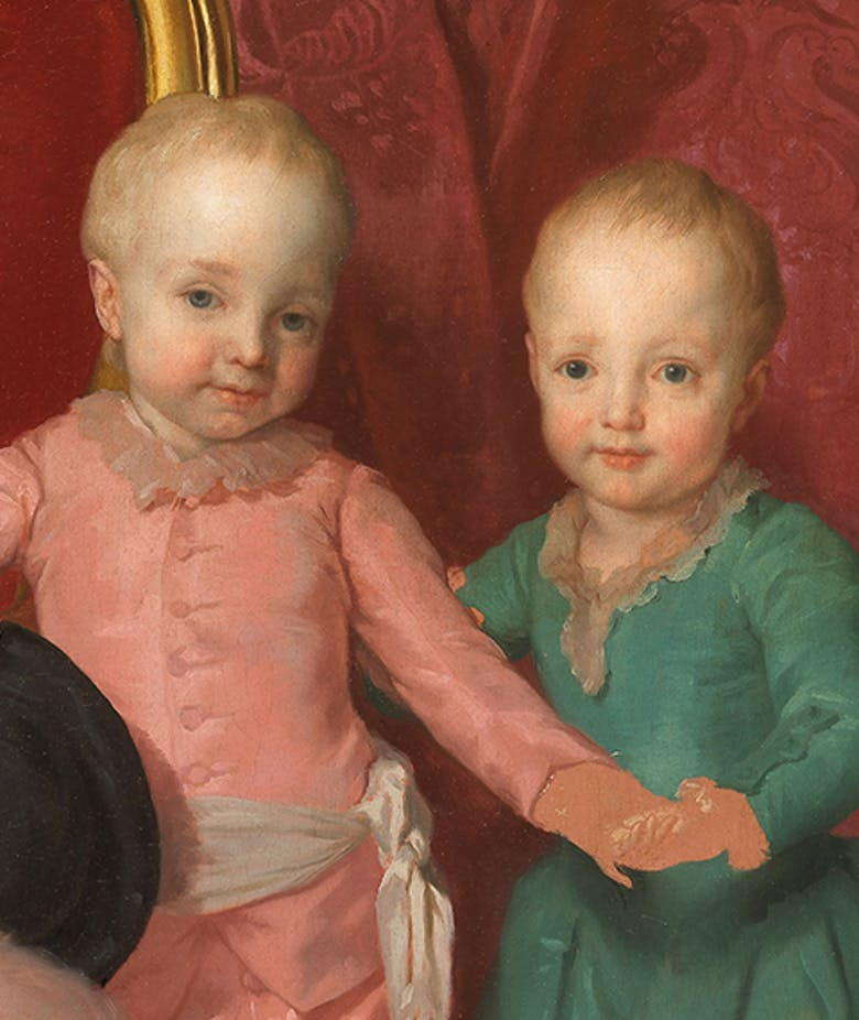 Double portrait of the Archdukes Ferdinand and Maria Anna of Habsburg-Lorraine