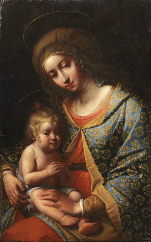 Fig. 4, Mario Balassi, Madonna col Bambino, Houston (Texas), sir Mark Fehrs Haukohl collection
