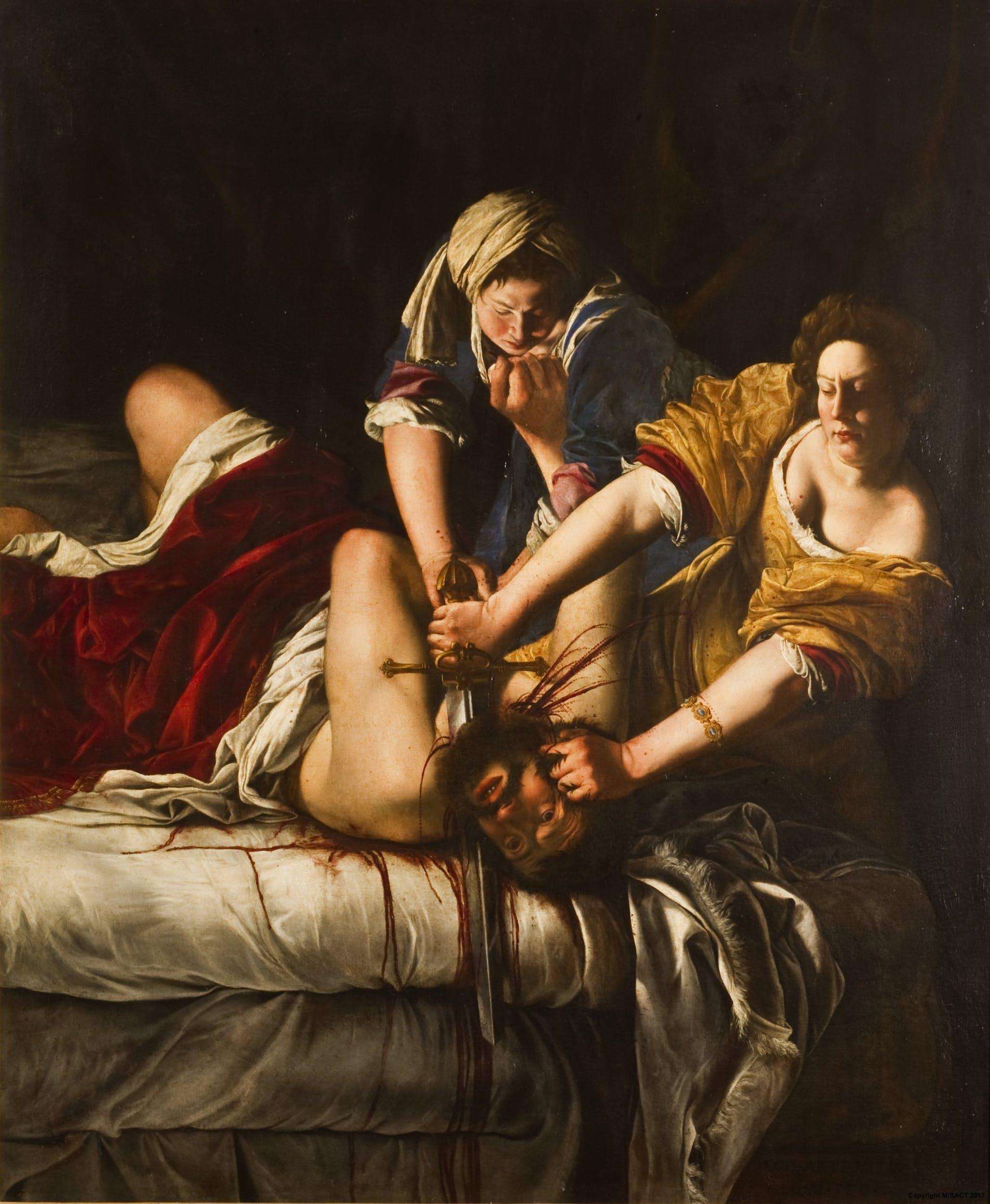 Gentileschi; Power of women
