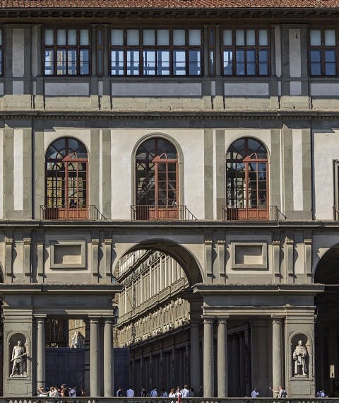 Il Palazzo degli Uffizi