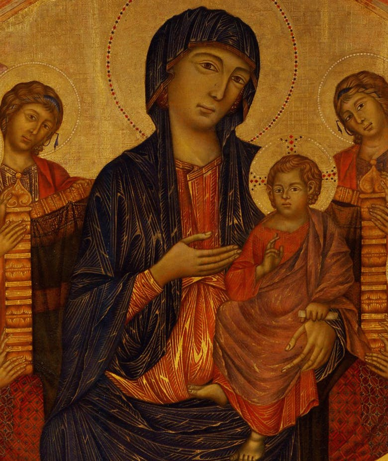 Between Human and Divine: Cimabue and the Santa Trinita Maestà