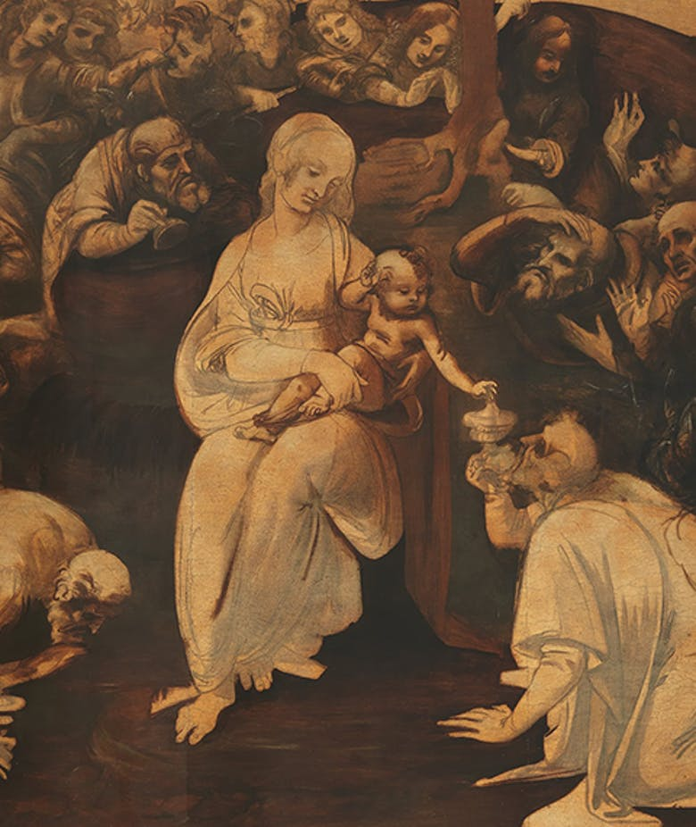 Adoration of the Magi San Donato in Scopeto