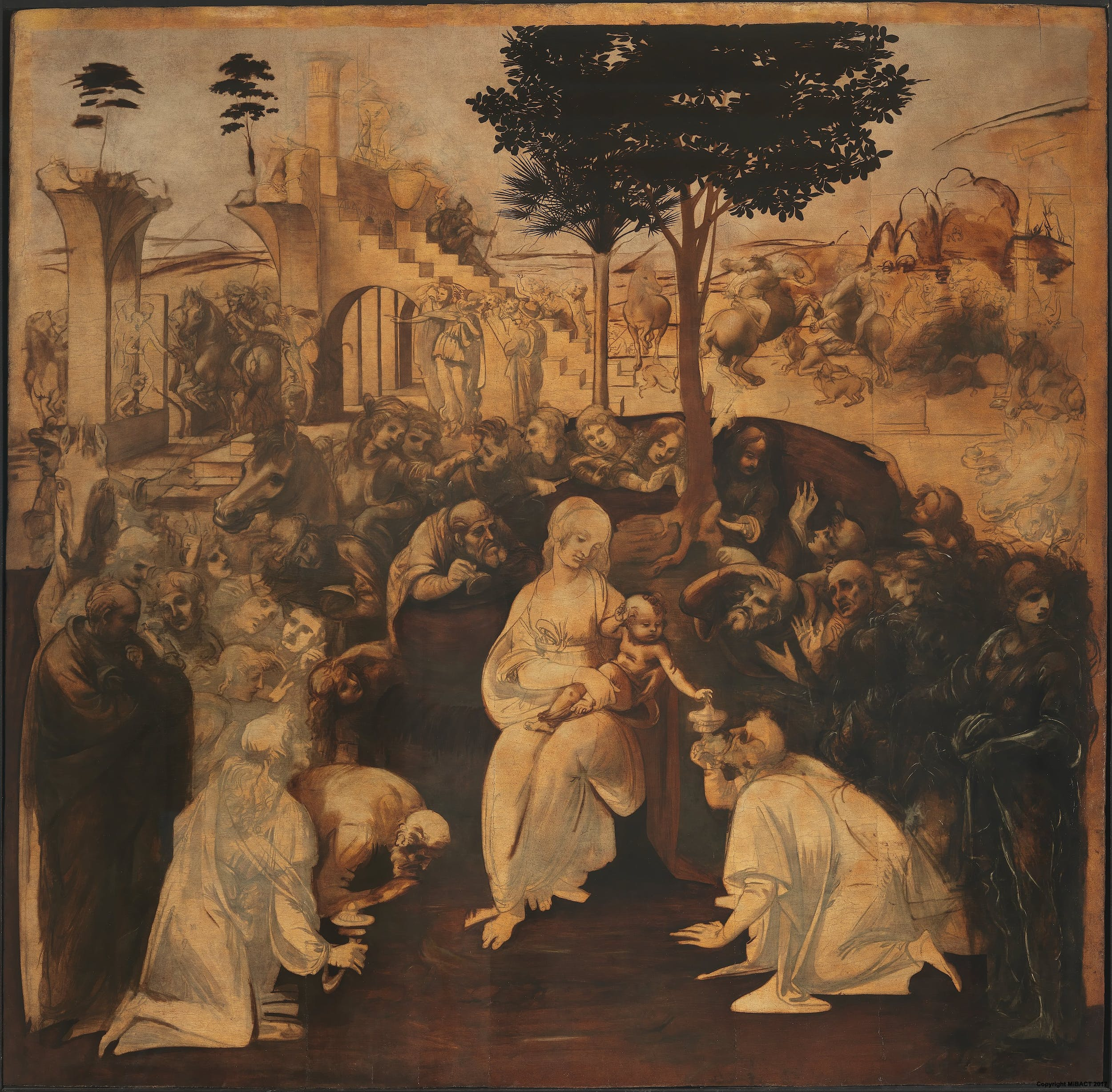 Adoration Of The Magi San Donato In Scopeto - Most recent magi map by us states