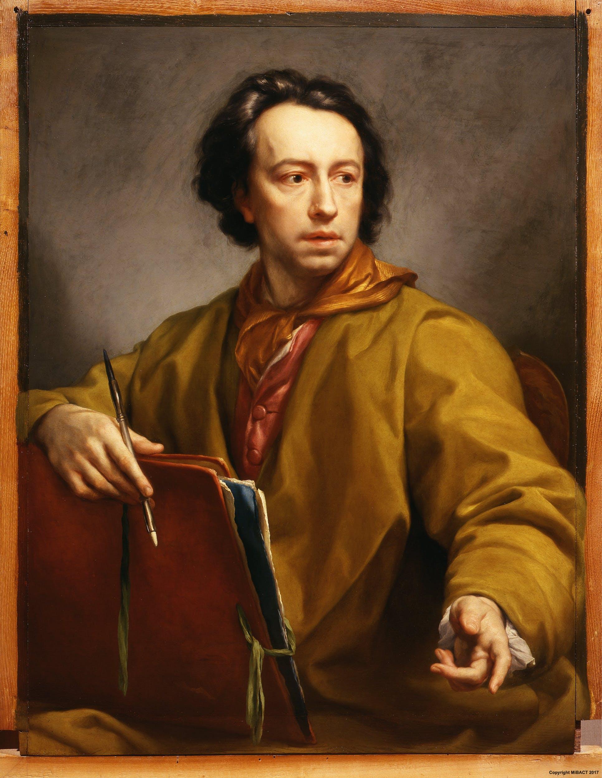 Fig. 4, Anton Raphael Mengs, Autoritratto