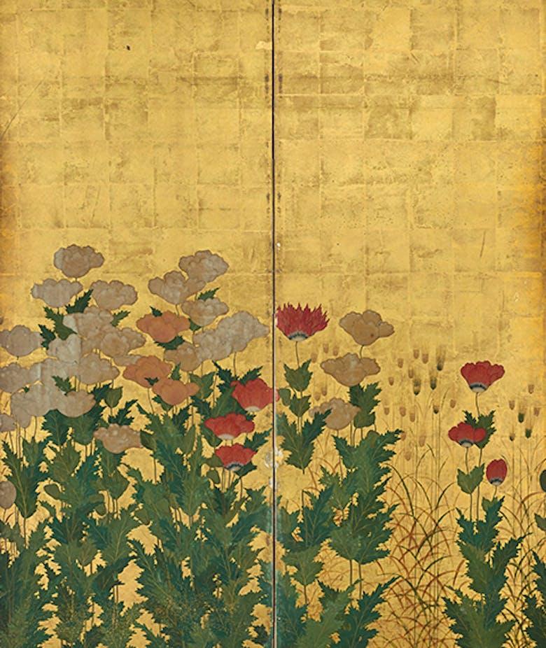 Il Rinascimento giapponese.  La natura nei dipinti su paravento dal XV al XVII secolo