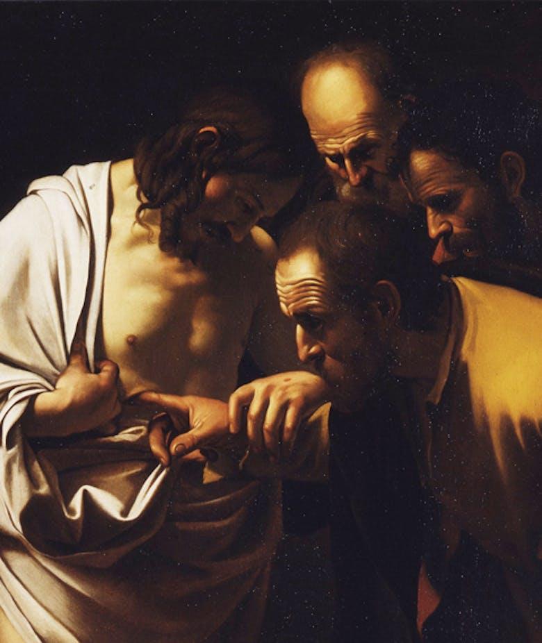 Incredulità di San Tommaso (Copia da Caravaggio)
