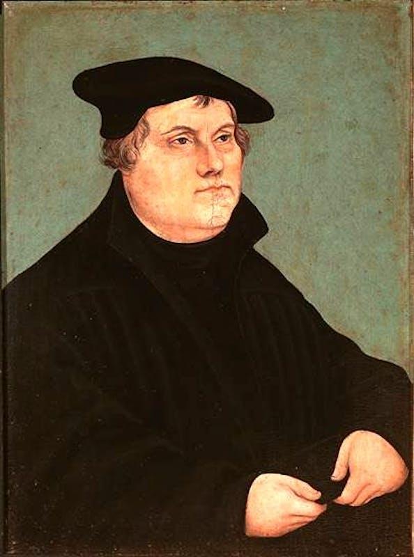 Ritratto di Martin Lutero