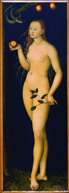 Lucas Cranach il Vecchio - Eva