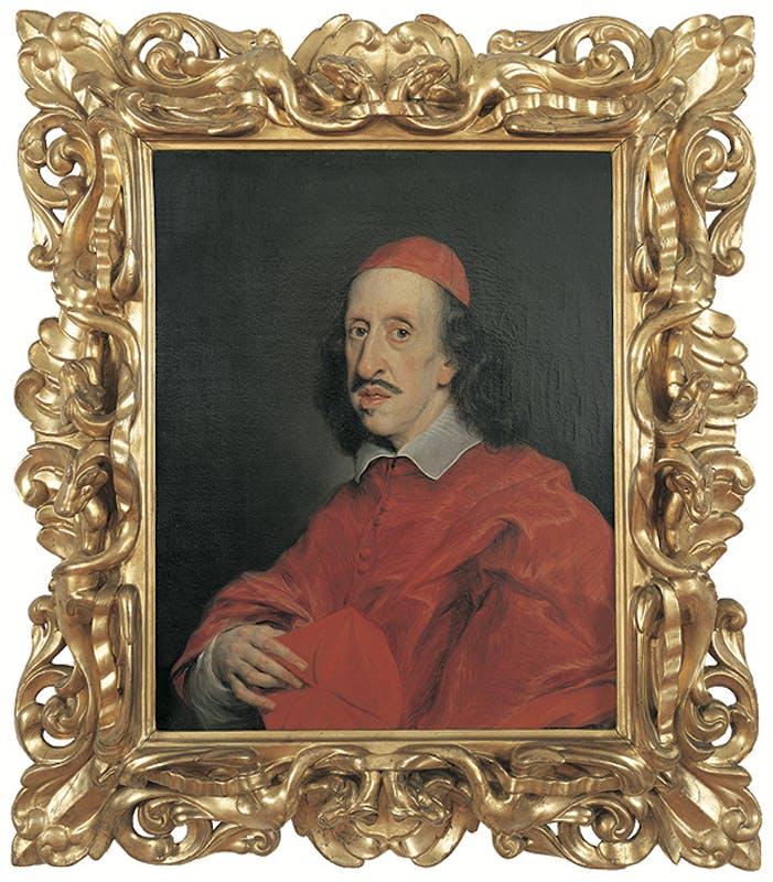 Giovan Battista Gaulli detto il Baciccio - Ritratto di Leopoldo de' Medici in abito cardinalizio