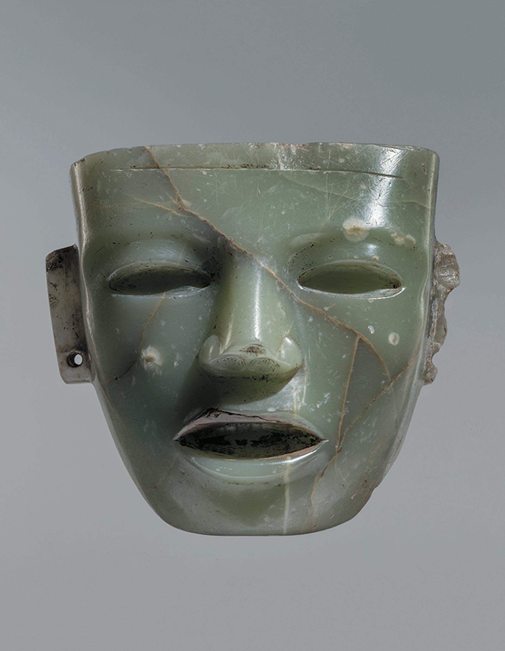 Anonimo - Maschera litica da Teotihuacan (Messico)