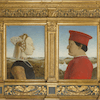 "Piero della Francesca, ""Portrait of the Dukes of Urbino"" (1465 -1472 ca.)"