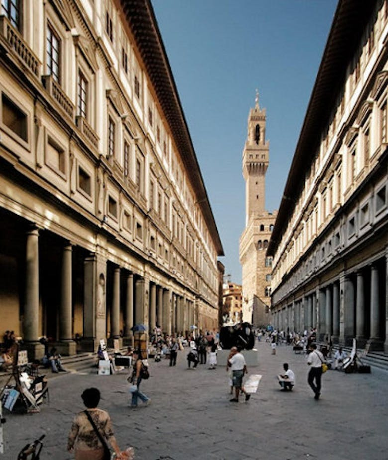 Do you want to know the waiting time to enter the Uffizi?