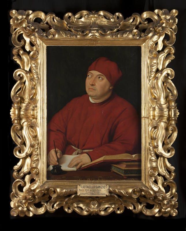 Raffaello, Ritratto di Fedra Inghirami, Galleria Palatina