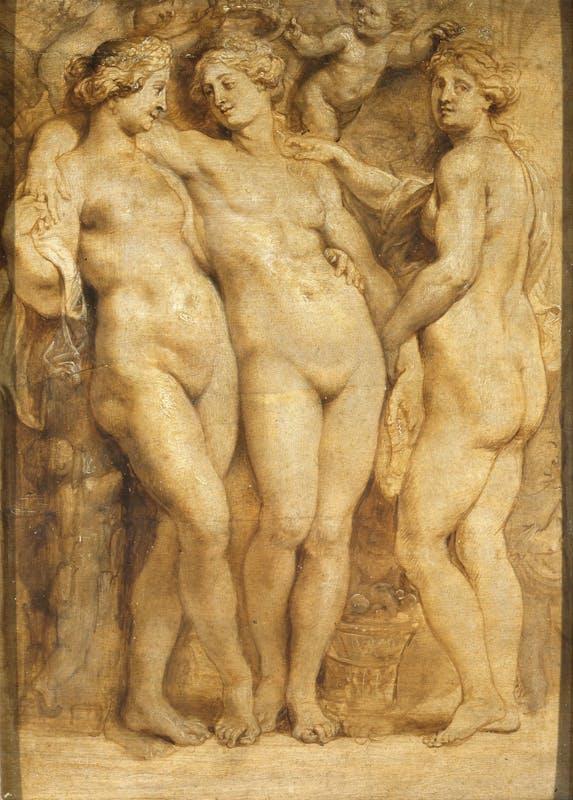 Pieter Paul Rubens, Le Tre Grazie, Galleria Palatina