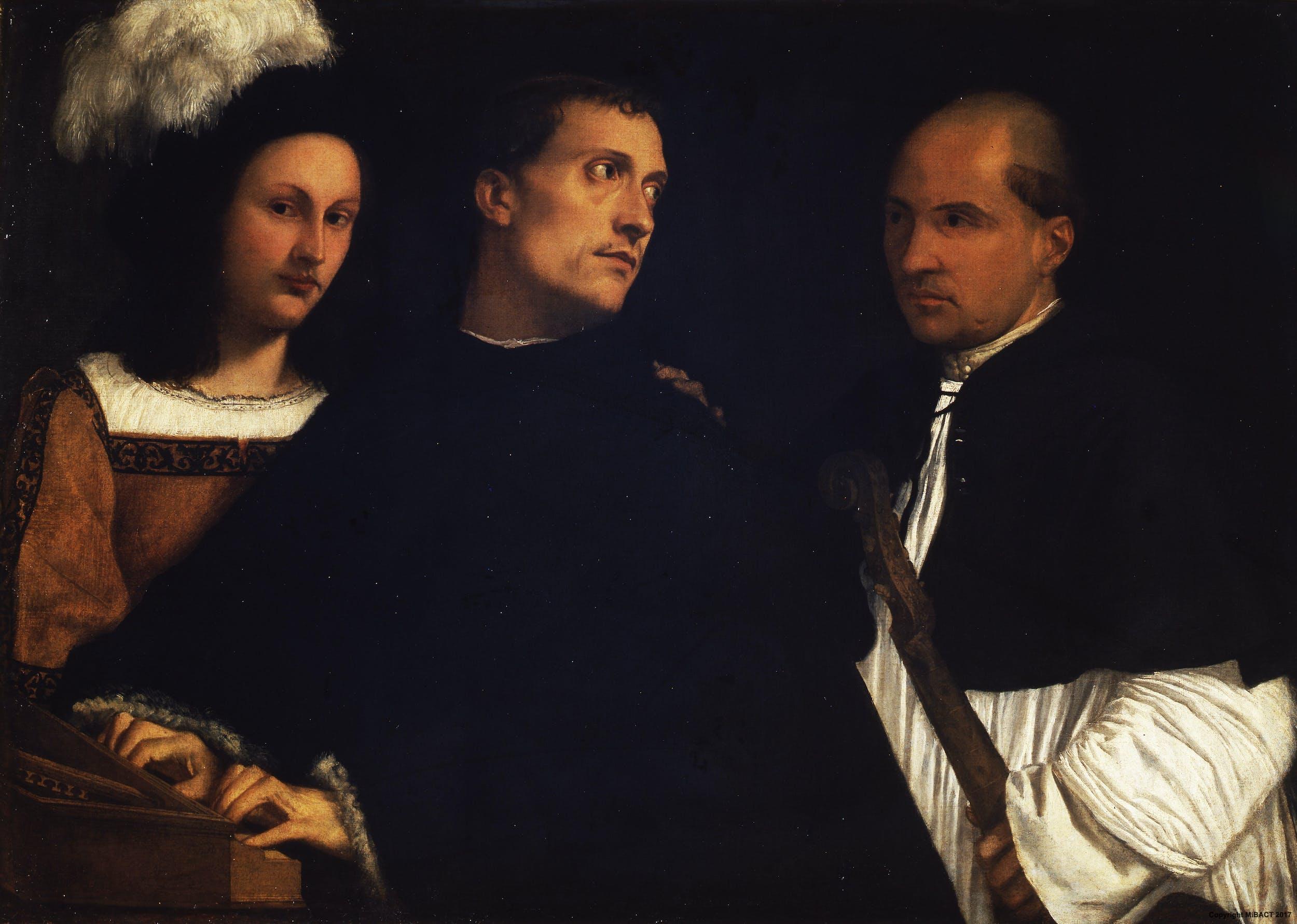 Tiziano, Concerto, Galleria Palatina