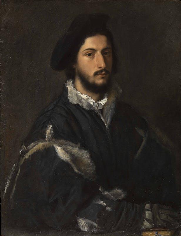 Tiziano, Ritratto di Tommaso Mosti, Galleria Palatina