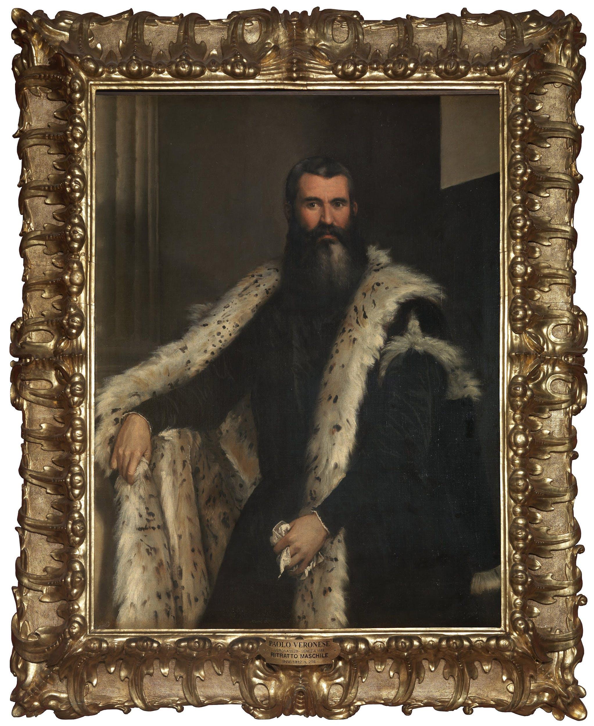 Paolo Veronese, Ritratto maschile, Galleria Palatina