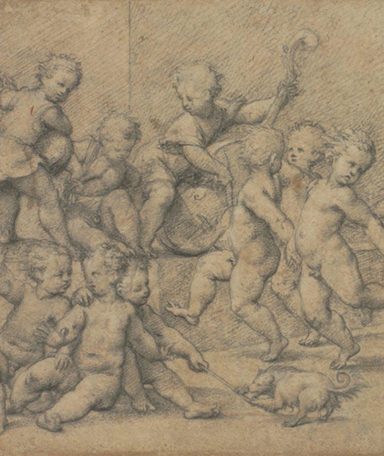 Dancing cherubs