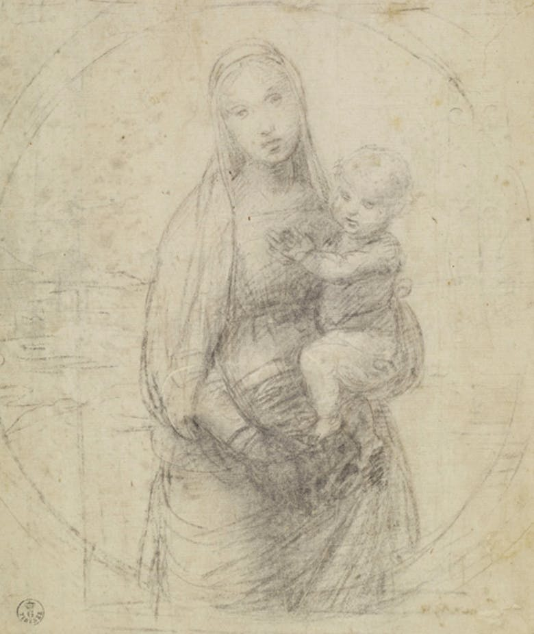 "Madonna with Child (study for ""The Grand Duke's Madonna"")"