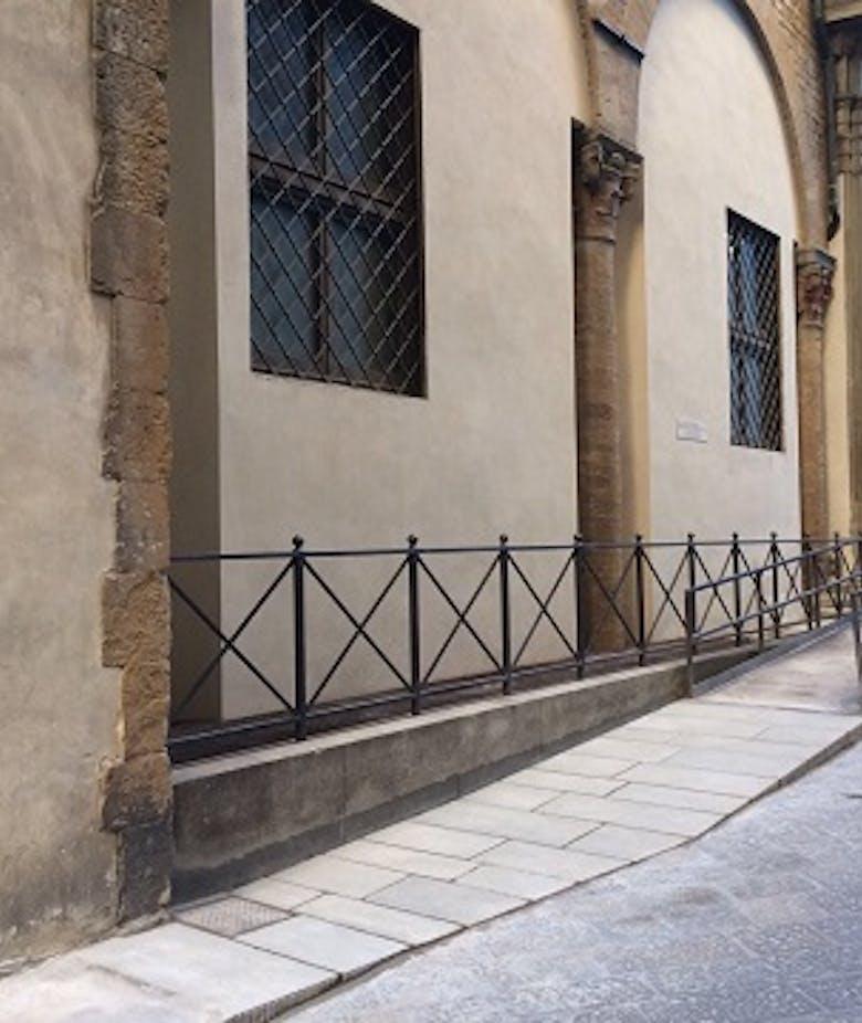 Abbattimento delle barriere architettoniche agli Uffizi