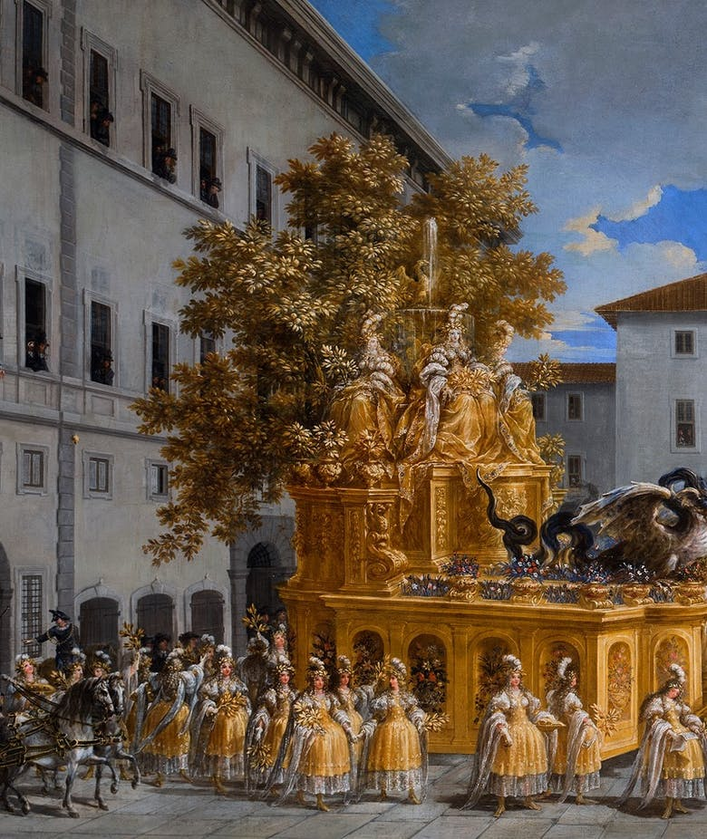 The Uffizi acquires a spectacular painting by Johann Paul Schor, a leading light in the decorative Arts of the 17th century