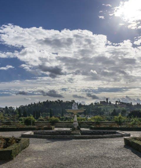 Pubblicazione avviso pubblico e relativo allegato per l'affidamento dei lavori di ristrutturazione delle mura del Giardino di Boboli
