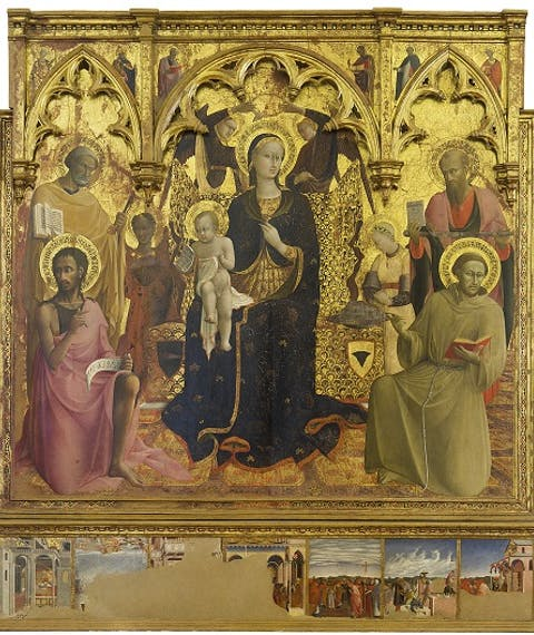 Madonna of the Snow Altarpiece
