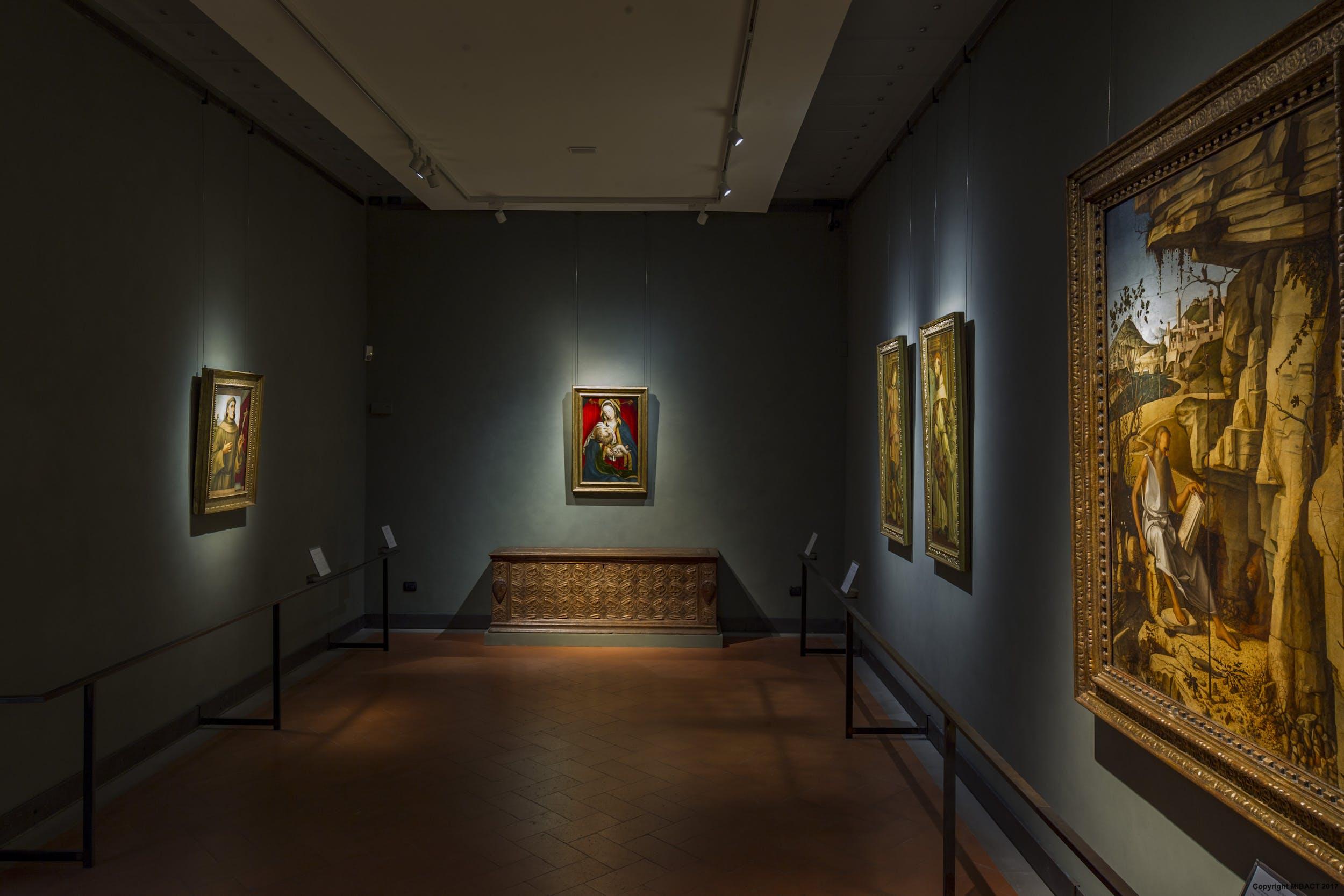 Veduta della sala del Bellini