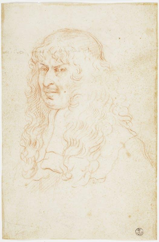 Elisabetta Sirani, Ritratto del conte Annibale Ranuzzi, Gallerie degli uffizi, Gabinetto dei disegni e delle stampe