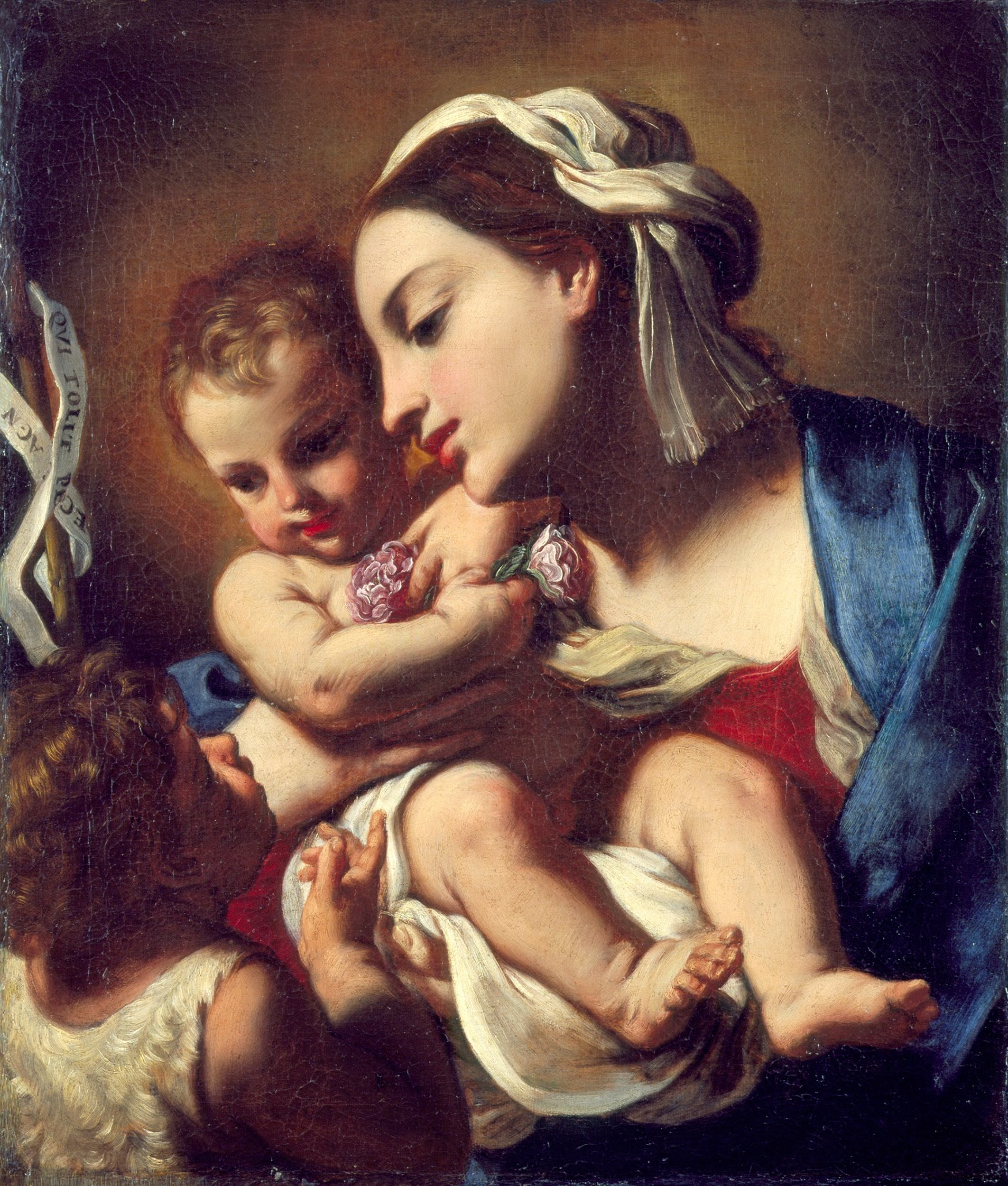 Elisabetta Sirani, Madonna col Bambino e San Giovannino, Pesaro,Musei Civici-palazzo Mosca