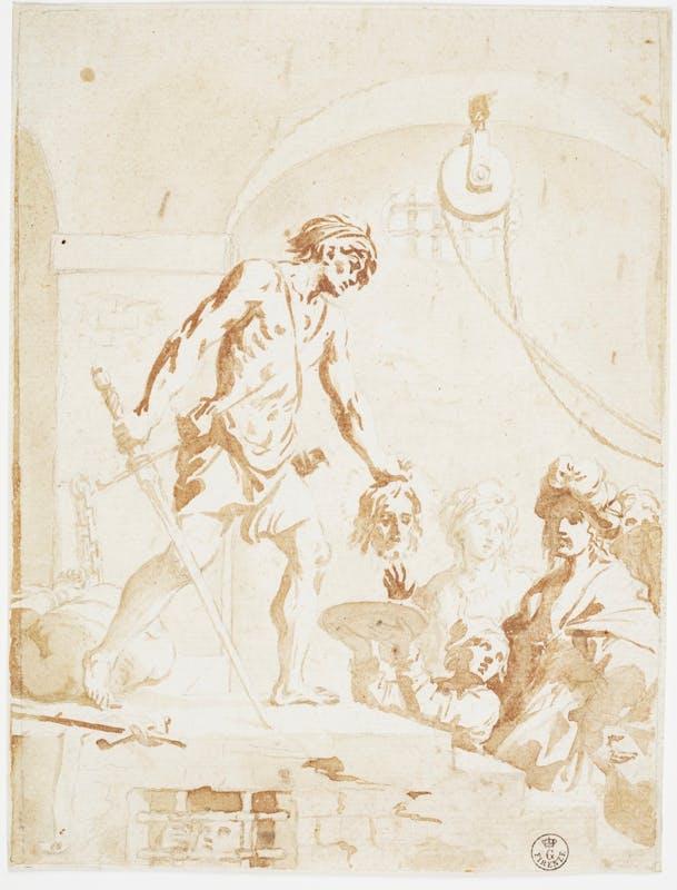 Elisabetta Sirani, Decollazione di San Giovanni Battista, Gallerie degli uffizi, Gabinetto dei disegni e delle stampe