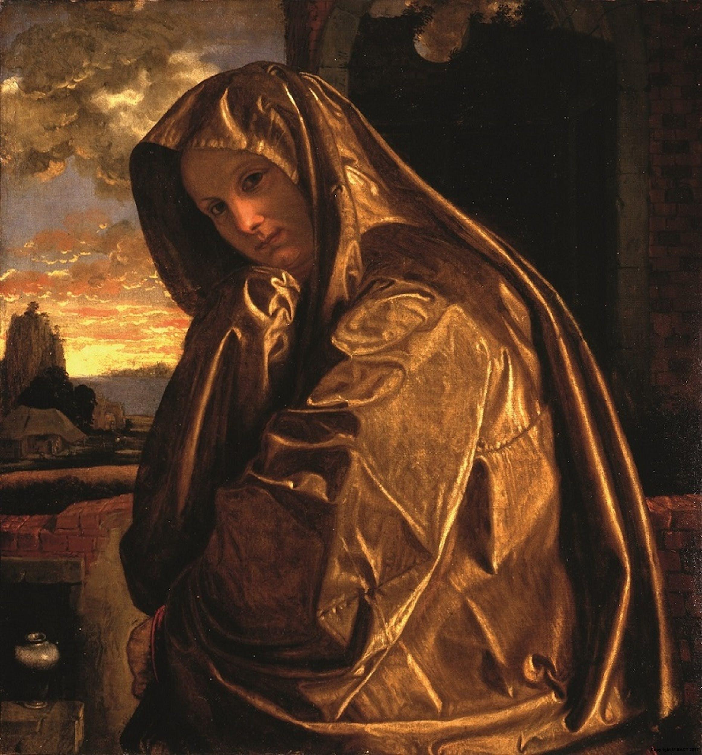 Gerolamo Savoldo (Brescia 1480 circa - Venezia 1548) La Maddalena 1533 circa Olio su tela Collezione Contini Bonacossi, Gallerie degli Uffizi, Firenze