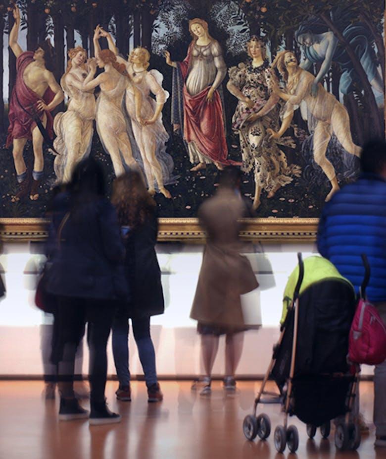 #BotticelliSpringMarathon: a 10-day digital marathon and a photo contest about Botticelli's Spring