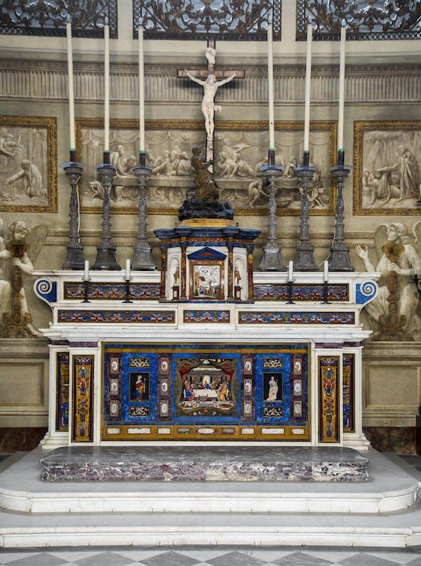 Cappella Palatina, altare