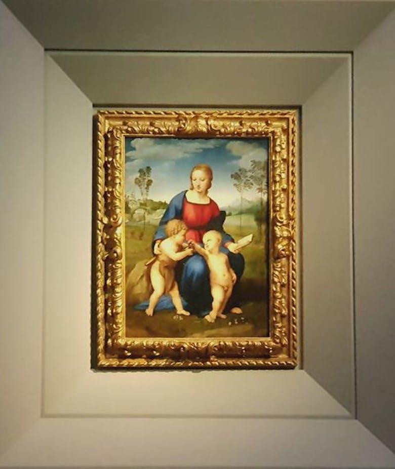 Inaugurata la nuova sala dedicata a Raffaello e Michelangelo