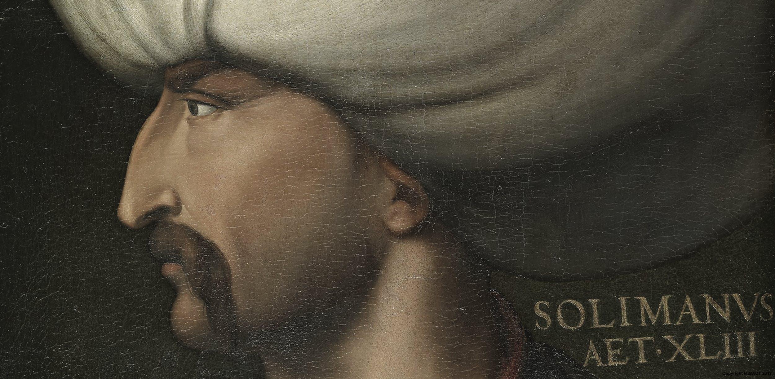 Cristofano dell'Altissimo, Solimano il Magnifico, seconda metà XVI sec., Uffizi